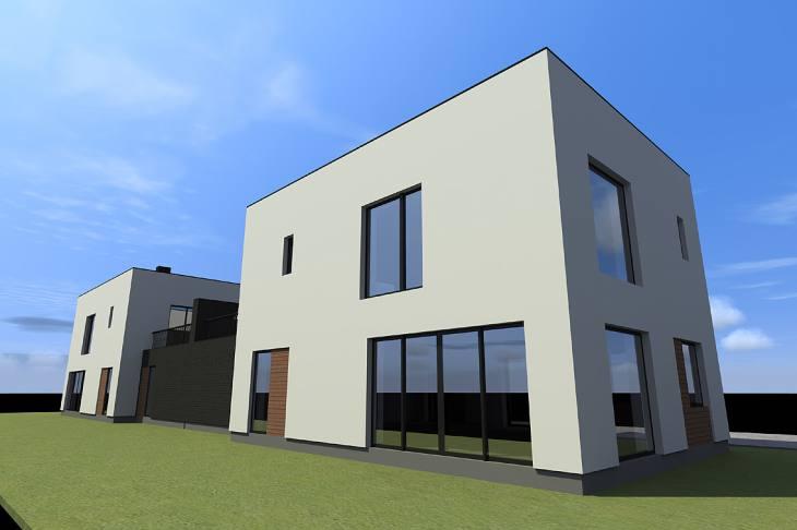 Dviejų butų gyvenamasis namas Vilniaus r. Bajorų kaime